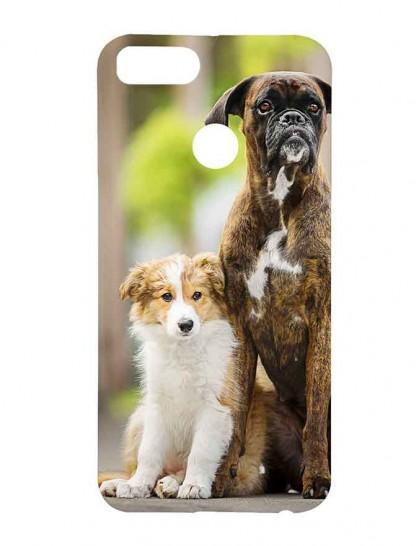 Boxer & Golden Retriever - Xiaomi Mi A1 Printed Hard Back Cover.