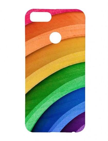 Colorful Painting with Multi-colors - Xiaomi Mi A1 Printed Hard Back Cover.