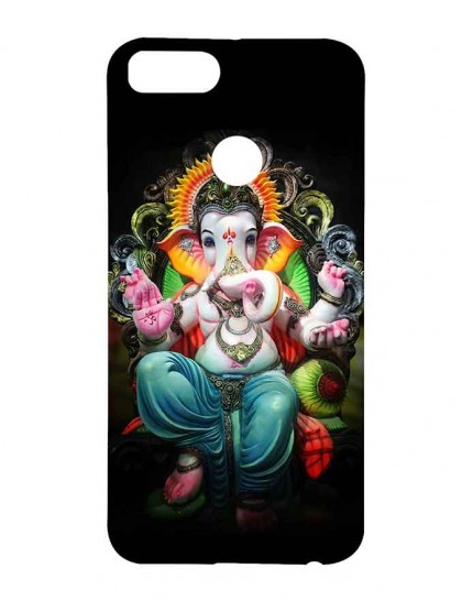 Lord Ganesha - Xiaomi Mi A1 Printed Hard Back Cover.