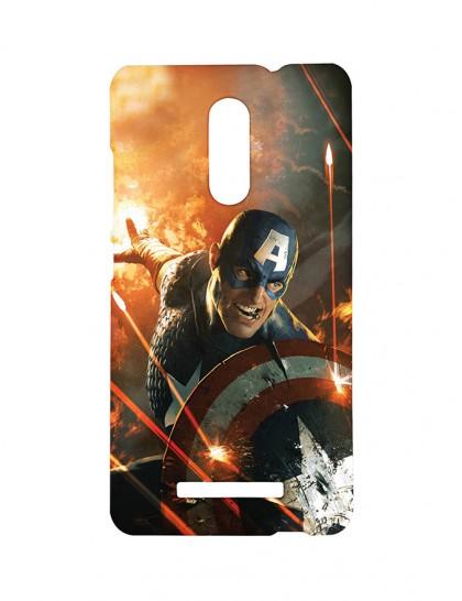 'Captain America: Civil War' - Xiaomi Redmi Note 3 Printed Hard Back Cover.