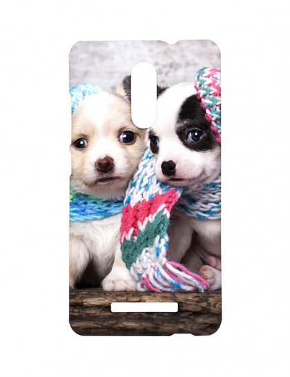 Cute Dogs with Scarfs - Xiaomi Redmi Note 3 Printed Hard Back Cover.