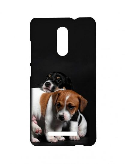 Cute Dogs -Xiaomi Redmi Note 3 Printed Hard Back Cover.