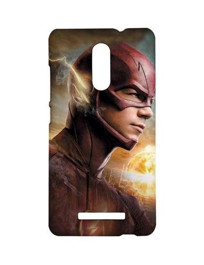 'Fictional Superhero - The Flash'- Xiaomi Redmi Note 3 Printed Hard Back Cover.