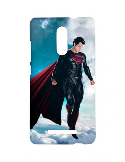 The Superman Looking From The Sky - Xiaomi Redmi Note 3 Printed Hard Back Cover.