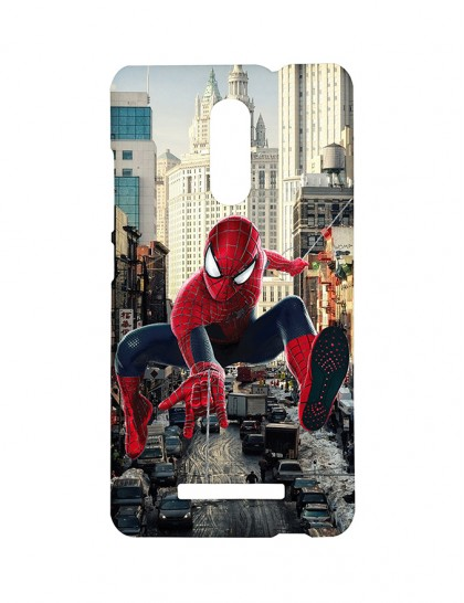 The Spiderman In New York City -Xiaomi Redmi Note 3 Printed Hard Back Cover.