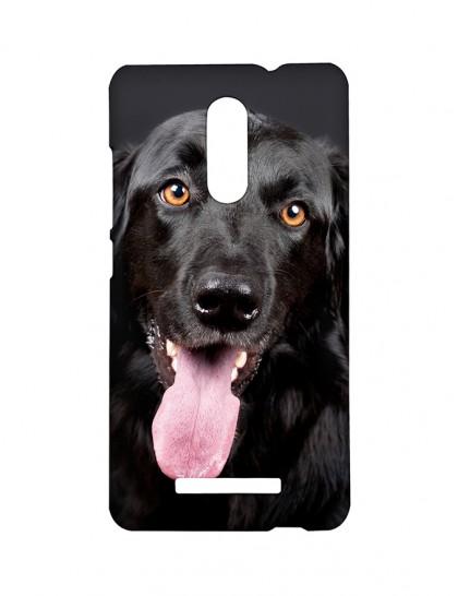The Black Labrador -Xiaomi Redmi Note 3 Printed Hard Back Cover.