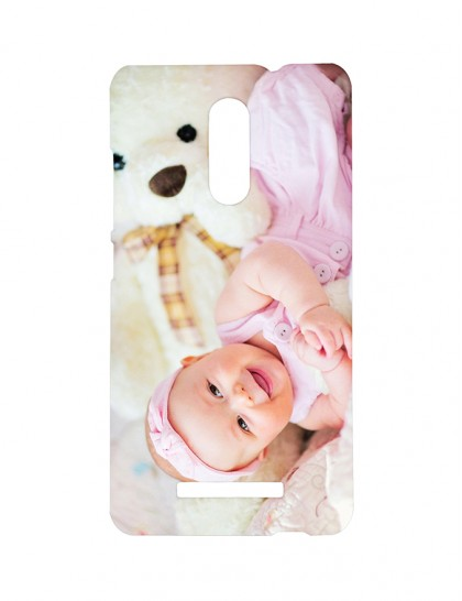 Cute Baby With Teddy -Xiaomi Redmi Note 3 Printed Hard Back Cover.