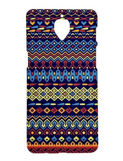 Aztec Pattern - One Plus 3 / 3T - Printed Back Cover.