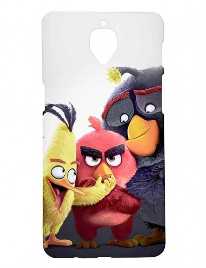 Angry Birds  - One Plus 3 / OnePlus 3T Printed Hard Back Cover.