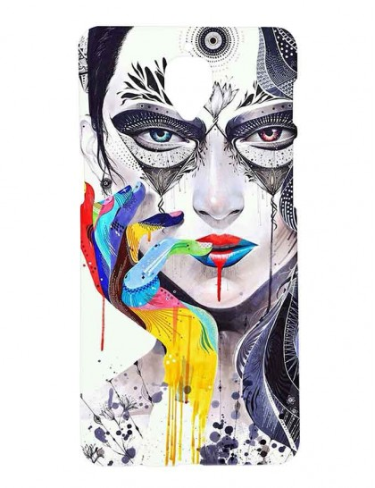 Artistic Illustrations Of Women -  One Plus 3 / 3T - Printed Back Cover.