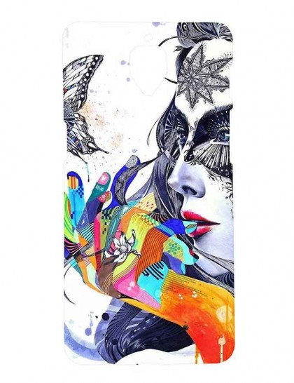 Artistic Illustrations Of Women Version 2 - One Plus 3 / 3T - Printed Back Cover.