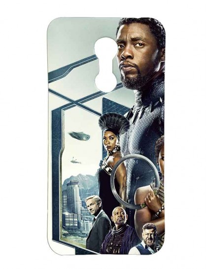'Black Panther' - Redmi Note 5 Printed Hard Back Cover.