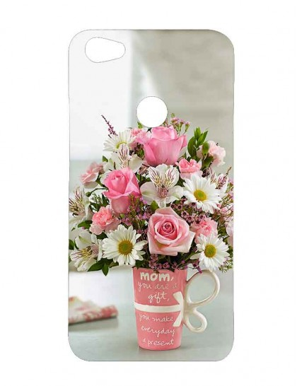 Flower Bouquet - Xiaomi Redmi Y1 Printed Hard Back Cover.