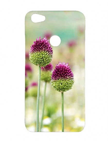 Drumstick Allium Flowers - Xiaomi Redmi Y1 Printed Hard Back Cover.