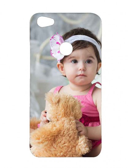 Cute Girl Baby With Doll -  Xiaomi Redmi Y1 Printed Hard Back Cover.