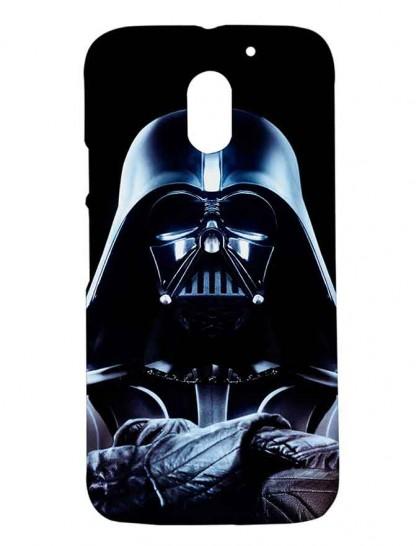 Darth Vader Of The Star Wars - Motorola Moto E3 Power Printed Hard Back Cover.