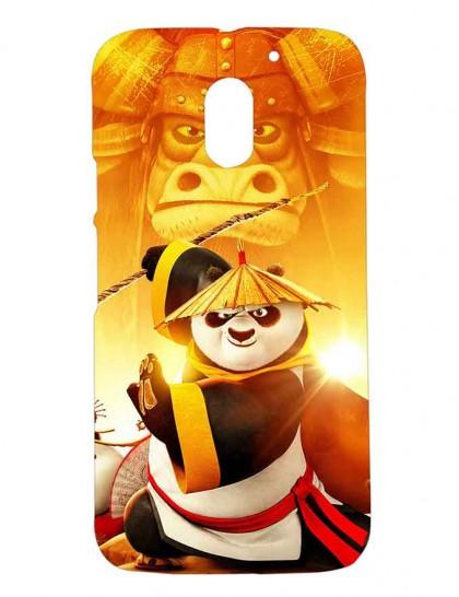 Kung Fu Panda - Motorola Moto E3 Power Printed Hard Back Cover.