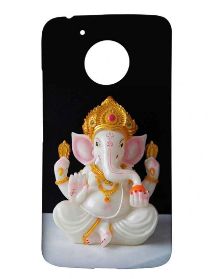 Lord Ganesha - Motorola Moto G5 Printed Hard Back Cover.