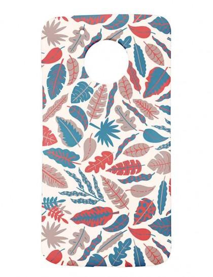 Pattern Of Leaves - Motorola Moto G5 Printed Hard Back Cover.