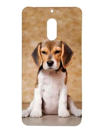 Beagle Dog - Nokia 6 Printed Hard Back Cover