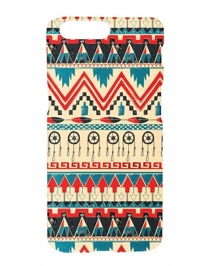 Aztec Pattern - One Plus 5 Printed Hard Back Cover