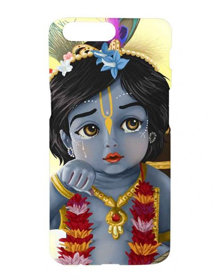 Little Krishna - One Plus 5 Printed Hard Back Cover