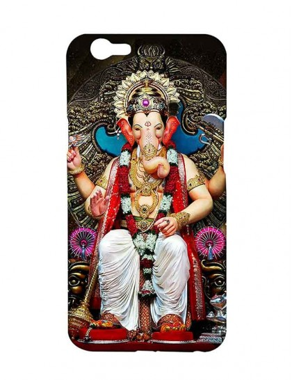 Lord Ganesha - Oppo F1s Printed Hard Back Cover.