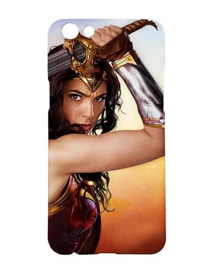 Wonder Women - Oppo F3 Printed Hard Back Cover.