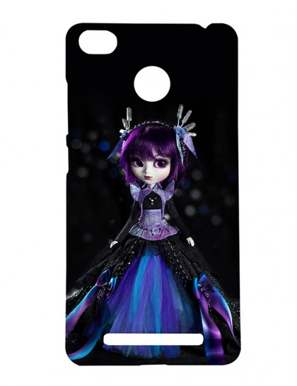 Girl With Lavender Hair - Xiaomi Redmi 3s Prime Printed Hard Back Cover.