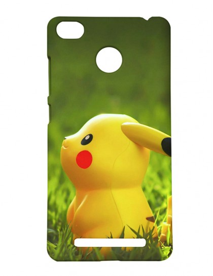 Pokemon Pikachu - Xiaomi Redmi 3s Prime Printed Hard Back Cover.