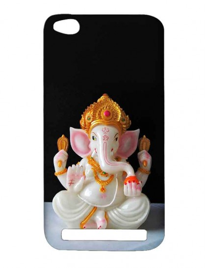 Lord Ganesha - Redmi 5A Printed Hard Back Cover.