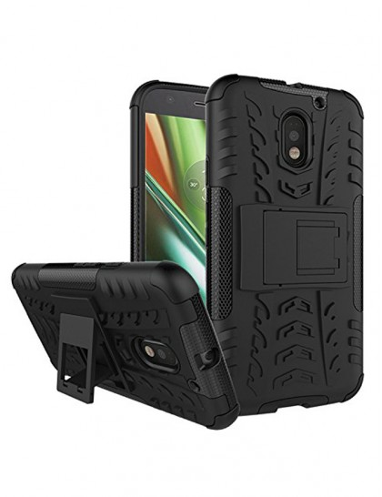 Moto E3 Power - Armour Backcover