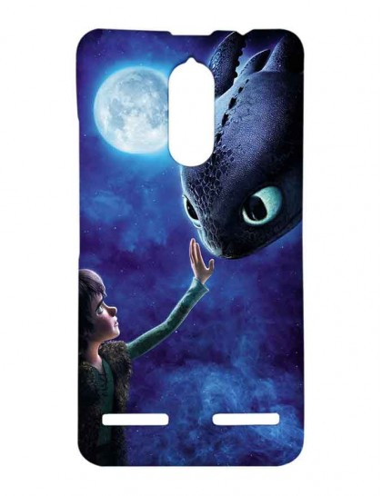 Hiccup & Toothless - Lenovo K6 Power Printed Hard Back Cover.