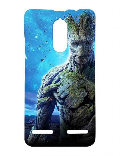 Guardians Of Galaxy Groot - Lenovo K6 Power Printed Hard Back Cover.