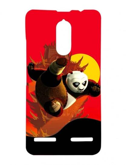 Kung Fu Panda Fighting - Lenovo K6 Power Printed Hard Back Cover.
