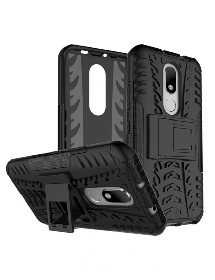 Moto M  - Armour Backcover
