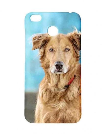 The Golden Retriever Dog - Redmi 4 Printed Hard Back Cover.