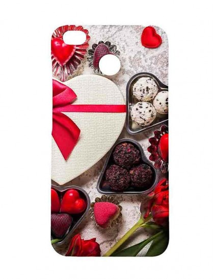 Best Chocolate For Valentine's Day - Redmi 4 Printed Hard Back Cover.