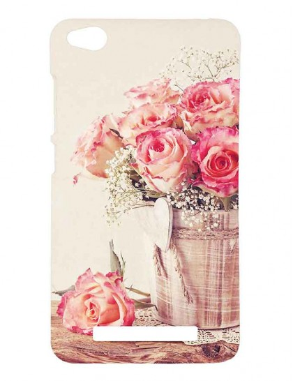 Bouquet Of Roses - Redmi 4A Printed Hard Back Cover.