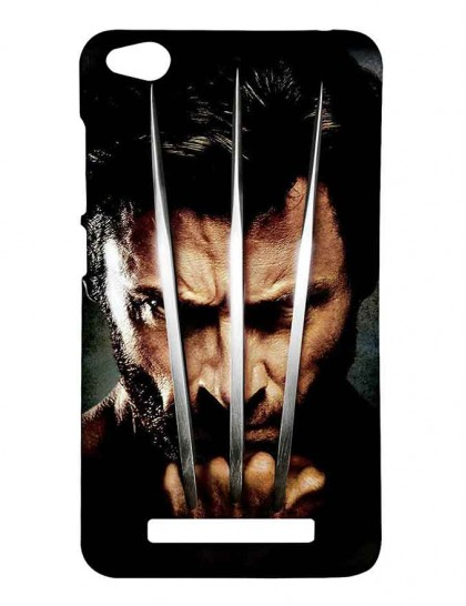 The Angry Wolverine - Redmi 4A Printed Hard Back Cover.