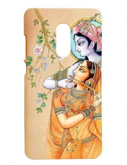Lord Krishna & Radha - Redmi Note 4 Printed Hard Back Cover.