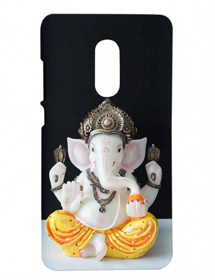 Lord Ganesha - Redmi Note 4 Printed Hard Back Cover.