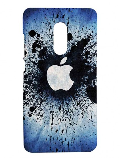 The Apple Spray Painting - Redmi Note 4 Printed Hard Back Cover.