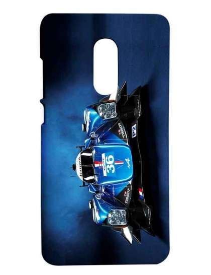 Car Used In Formula One Race - Redmi Note 4 Printed Hard Back Cover.