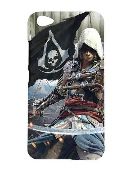Assassin's Creed IV: Black Flag - Vivo V5 Plus Printed Hard Back Cover.
